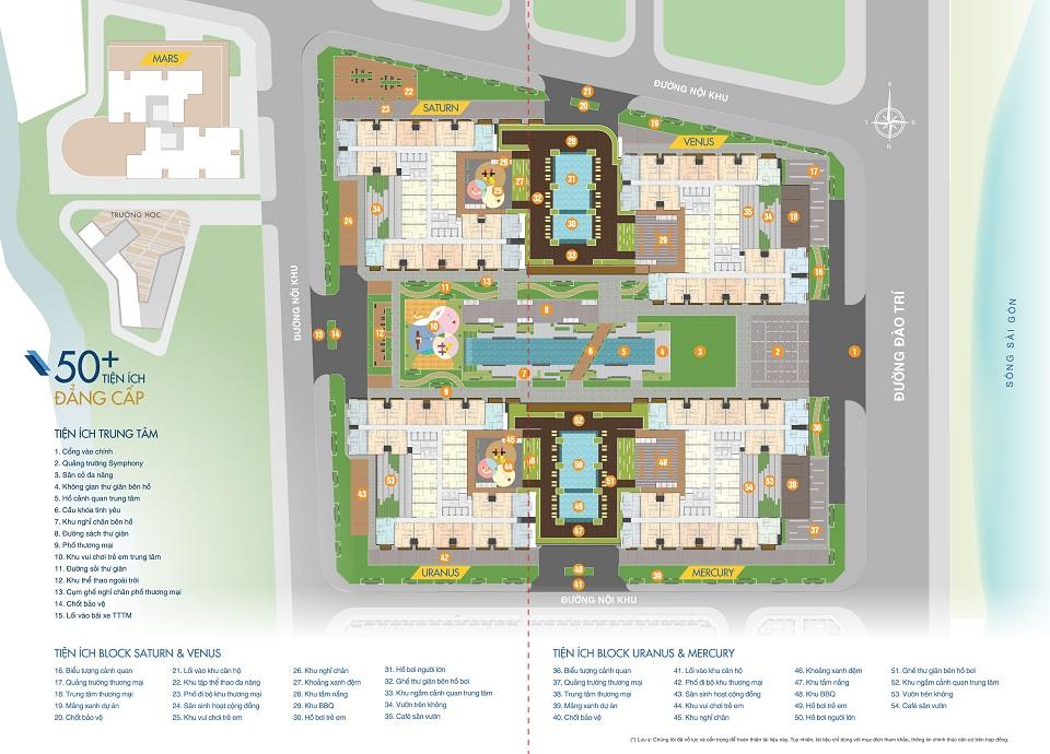 50 tiện ích tại căn hộ q7 saigon riverside