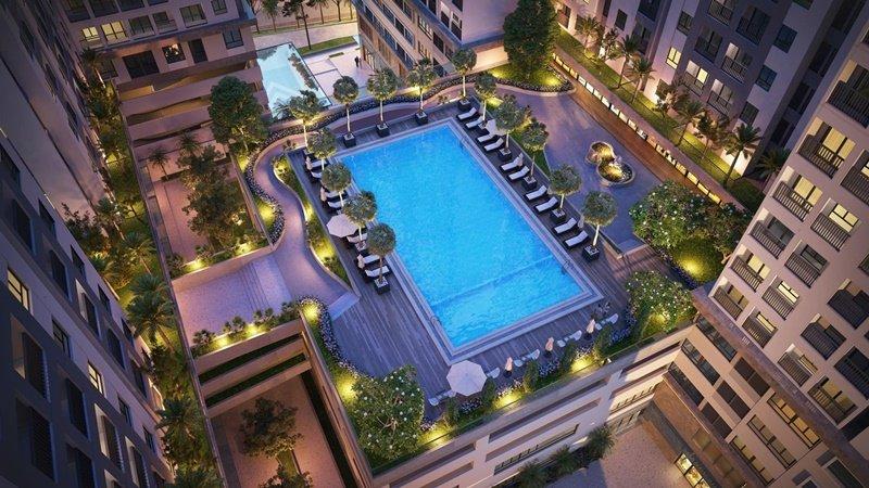 căn hộ Lavita Charm Bình Thái - Hồ bơi