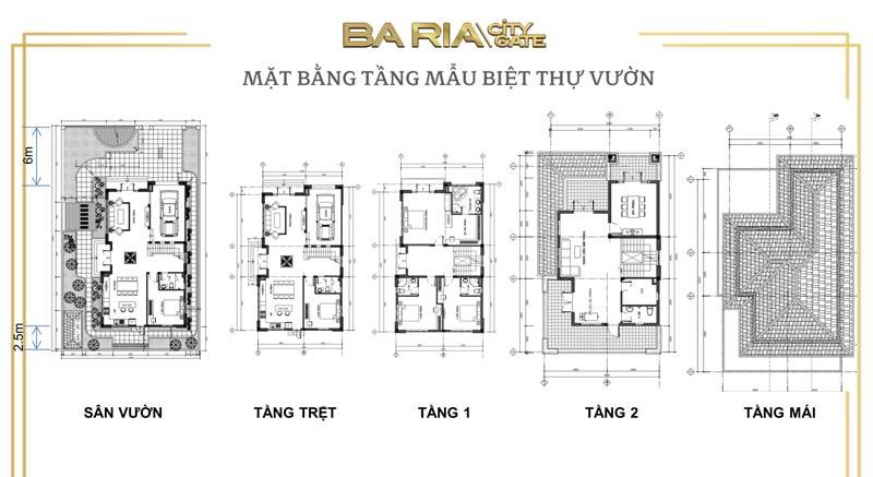 Thiết kế xây dựng đất nền Bà Rịa City Gate