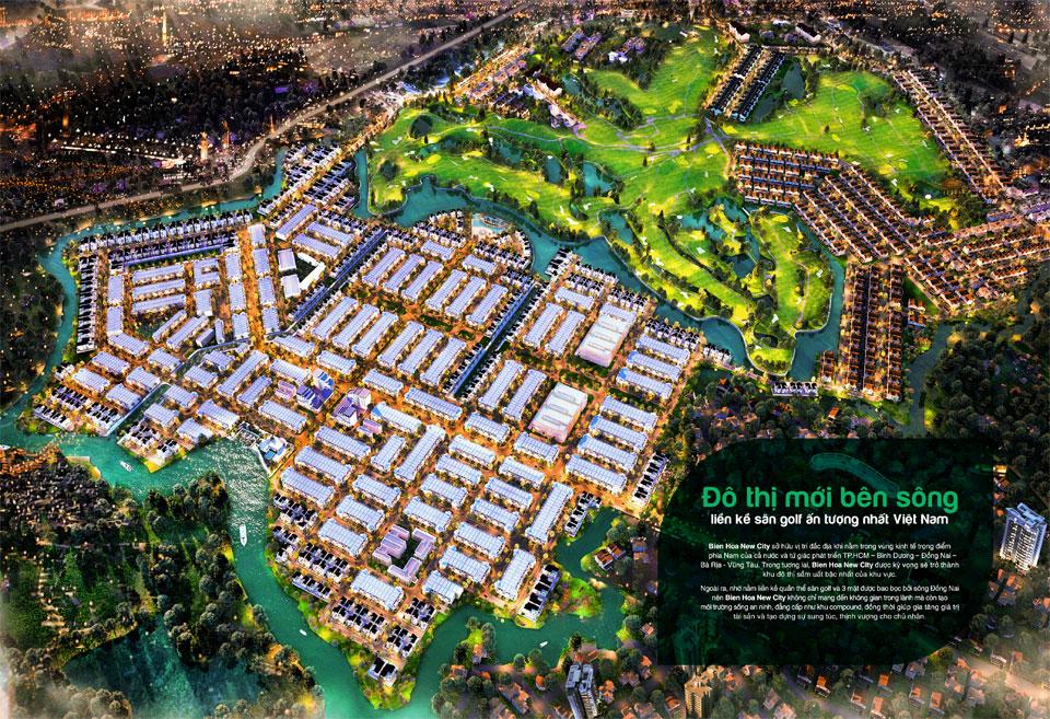 Tổng quan đất nền Biên Hòa New City