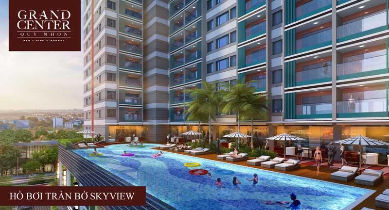 dự án grand center quy nhơn hô bơi