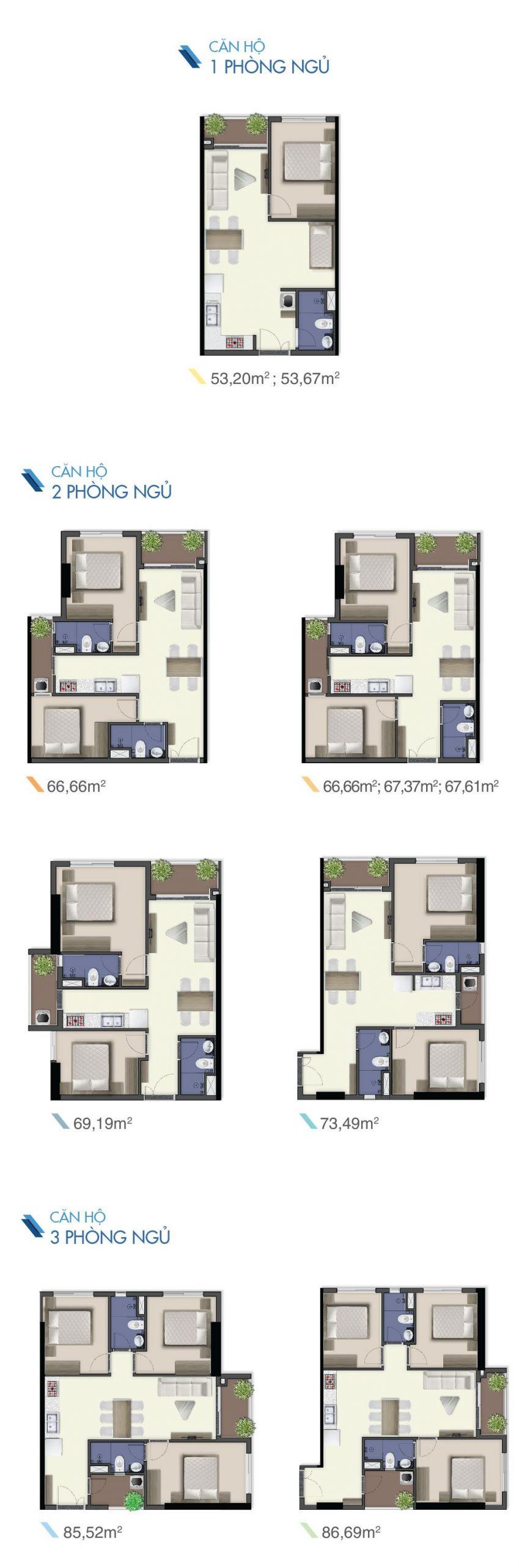 thiết kế căn hộ q7 saigon riverside