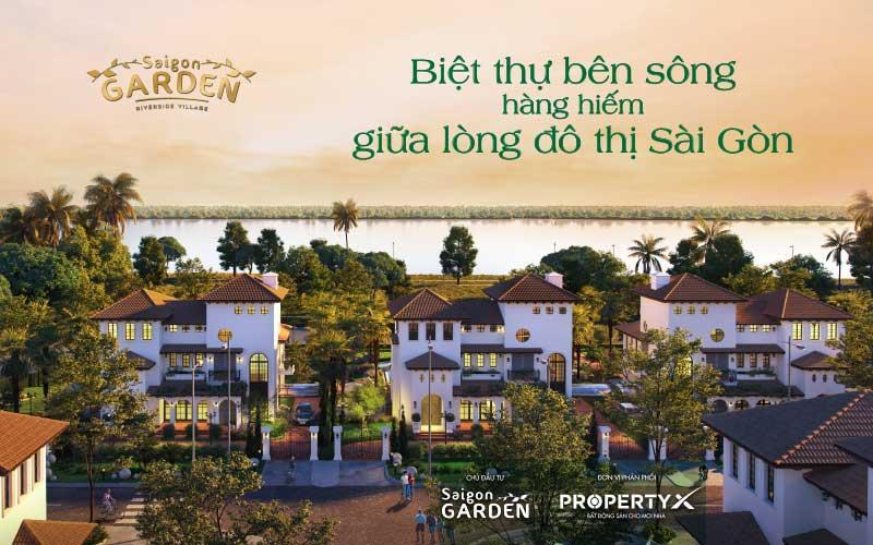 Dự án Saigon Garden Riverside Village
