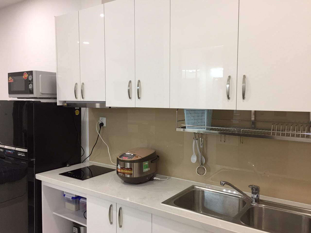 cho thuê căn hộ saigon mia phòng bếp