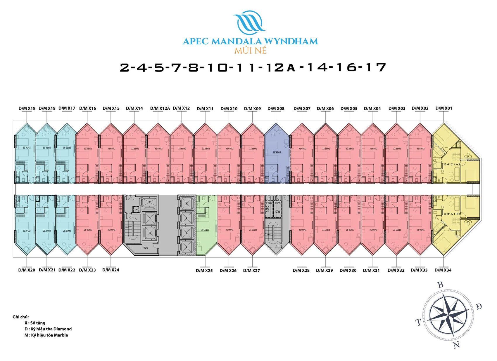 thiết kế Apec Mandala Wyndham Mũi Né