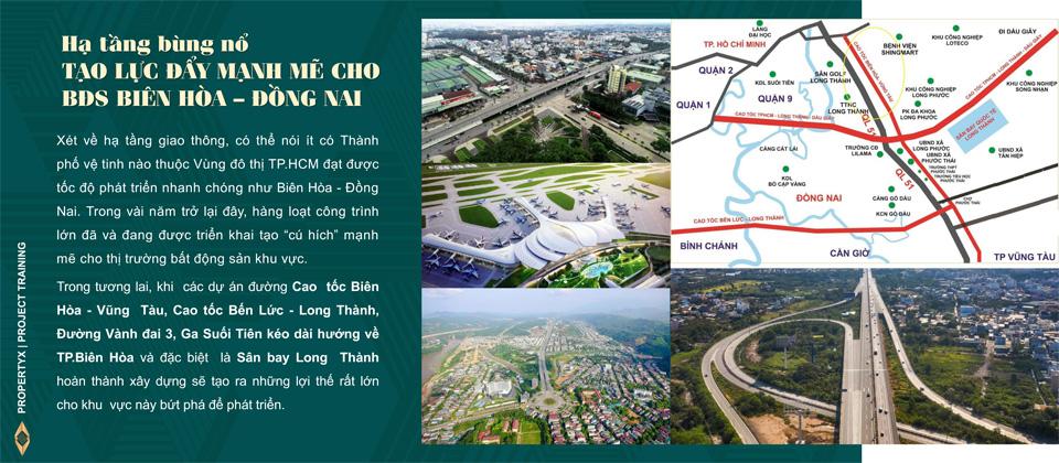 đầu tư bất động sản theo hạ tầng
