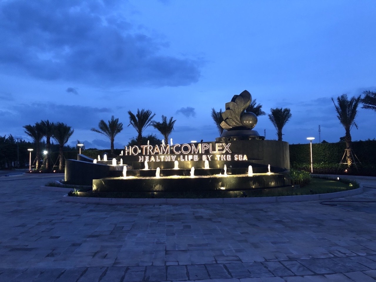 Tiến Độ Thi Công Dự án Hồ Tràm Complex