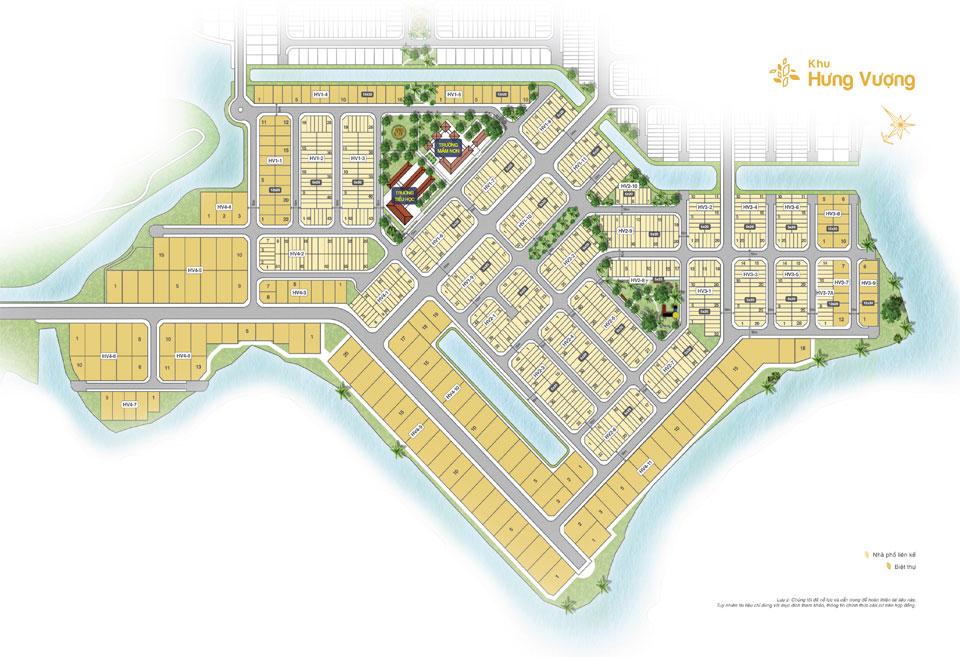 đất nền Biên Hòa New City khu Hưng Vượng
