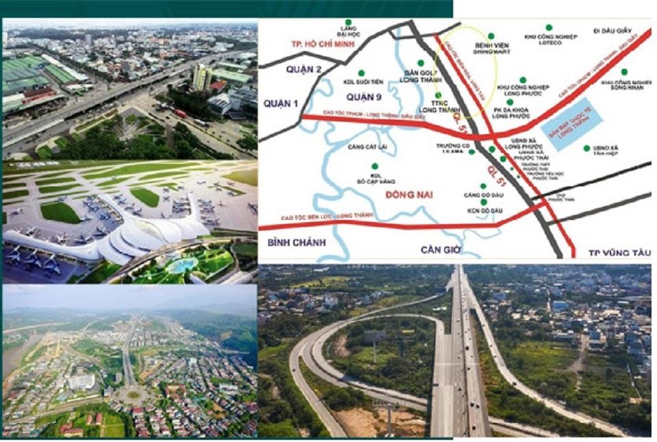 tiến độ hạ tầng kết nối khu vực biên hoà universe complex