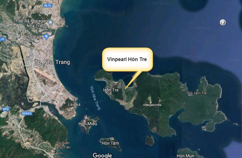 Cầu vượt biển nối khu đô thị An Viên với Hòn Tre Tp Nha Trang